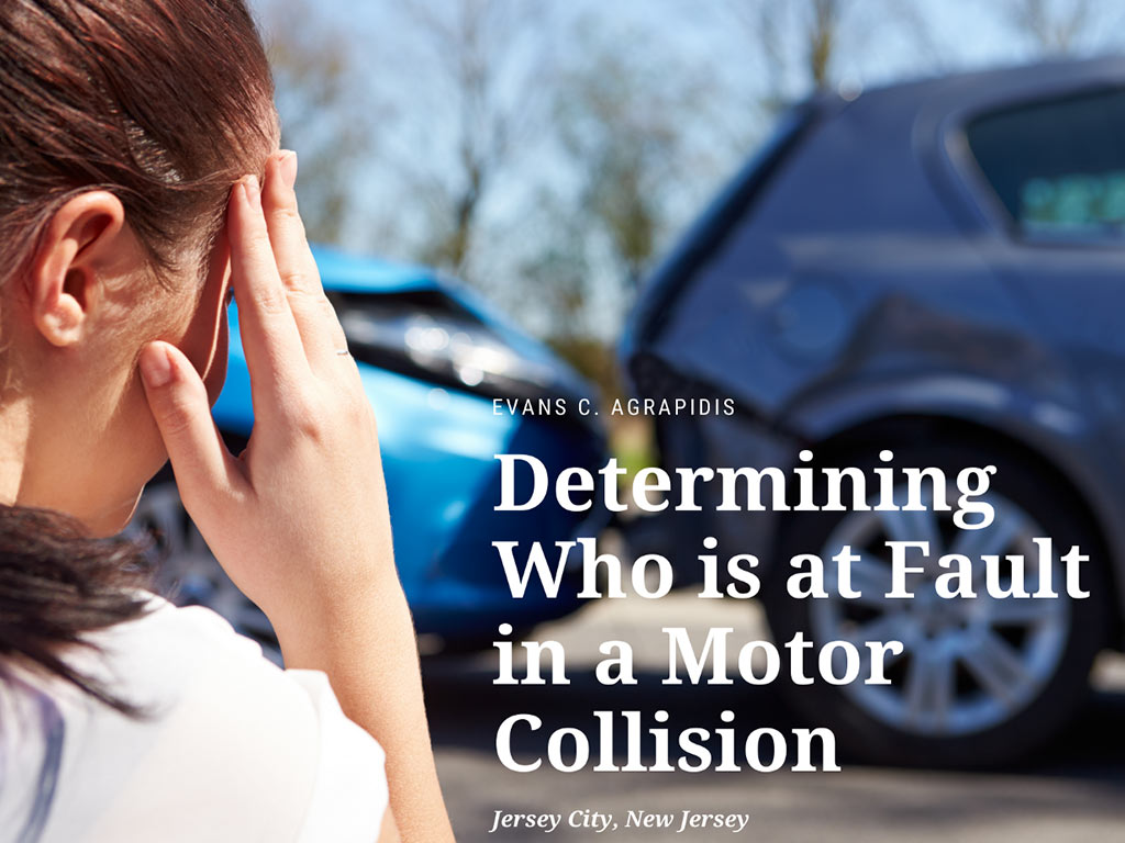 Determining who is at Fault in a Motor Collision